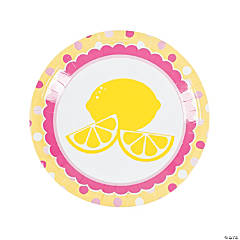 Lemonade Party Dinner Plates