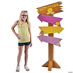 Lemonade Party Directional Sign