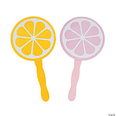 Lemonade Party Hand Fans