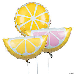 Lemonade Party Mylar Balloons
