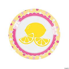Lemonade Party Paper Dinner Plates