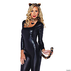 Leopard Costume Kit with Heart Pendant