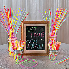 Let Love Glow Wedding Idea