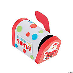 Letters to Santa Mailbox Craft Kit