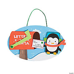 Letters to Santa Sign Craft Kit
