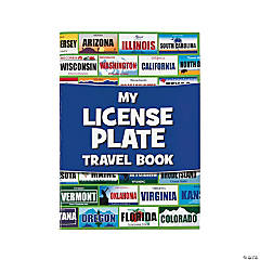 License Plate Travel Sticker Books