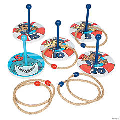 Life Preserver Ring Toss Game