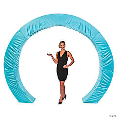 Light Blue Circle Arch Slip