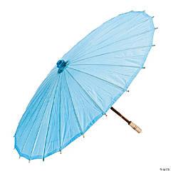 Light Blue Paper Parasol