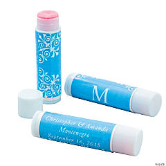 Light Blue Roman Monogram Lip Covers