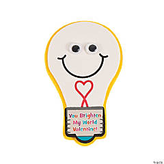 Light Bulb Valentine Magnet Craft Kit