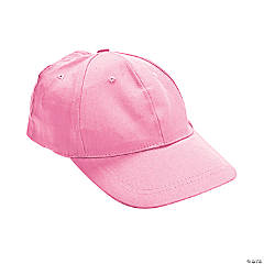 Light Pink Baseball Caps