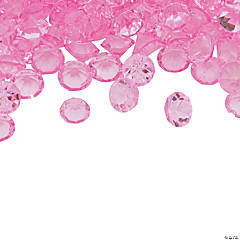 Light Pink Crystal Beads - 4mm