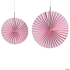 Light Pink Hanging Fans