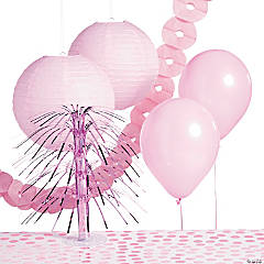 Light Pink Party Decorating Kit