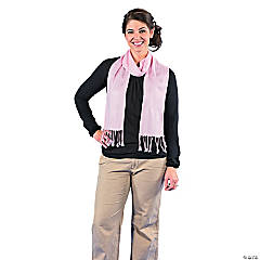 Light Pink Personalized Scarf