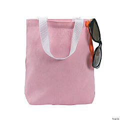Light Pink Tote Bags