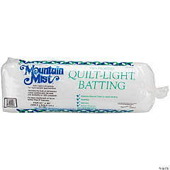 Light Polyester Batting-Full Size