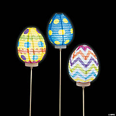 Light-Up Egg Paper Lanterns