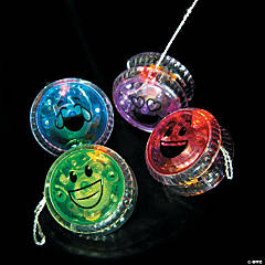 Light-Up Emoji YoYos