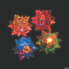 Light-Up Flashing Star Ball Assortment