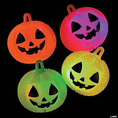 Light-Up Jack-O'-Lantern Puffer Ball YoYos
