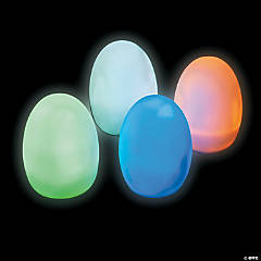 Light-Up Jumbo Eggs Party Lights