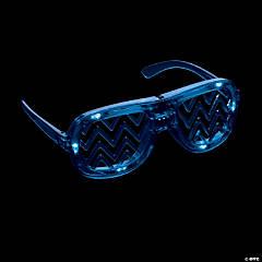Light-Up LED Chevron Shading Glasses