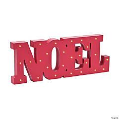 Light-Up Noel Tabletop Décor