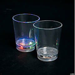 Light-Up Plastic Shot Glasses