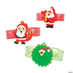 Light-Up Santa Bracelets