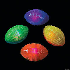 Light-Up Spike Footballs