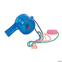 Light-Up Strobe Whistle