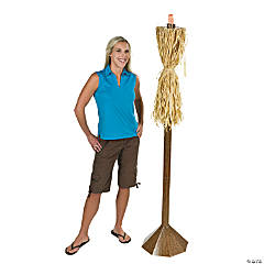 Light-Up Tropical Torch Cardboard Stand-Up