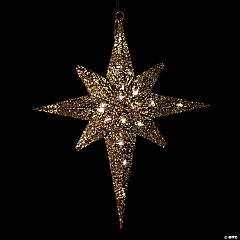 Lighted Star of Bethlehem