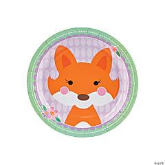 Lil' Fox Dessert Plates