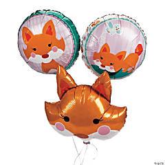 Lil' Fox Mylar Balloons