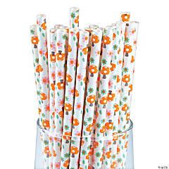 Lil' Fox Paper Straws