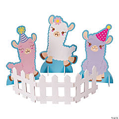 Lil' Llama Birthday Centerpiece Set