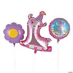 Lil' Llama Mylar Balloons