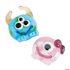 Lil Monster Boy/Girl Lampwork Beads
