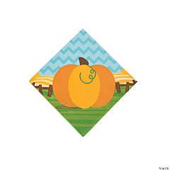 Lil' Pumpkin Beverage Napkins