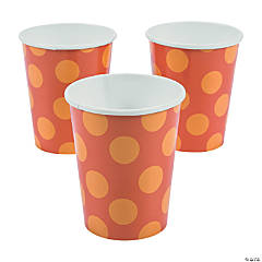 Lil' Pumpkin Paper Cups