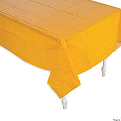 Lil' Pumpkin Plastic Tablecloth