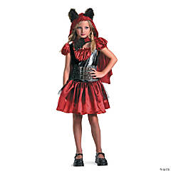 Lil Red Riding Rage Girl's Costume
