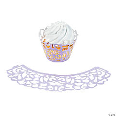 Lilac Cupcake Wrappers