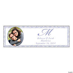 Lilac Flourish Small Custom Photo Banner