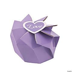 Lilac Wedding Blossom Boxes