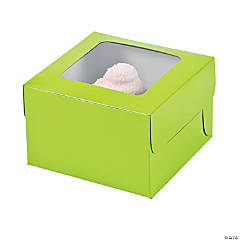 Lime Green Cupcake Boxes