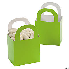 Lime Green Favor Gift Baskets